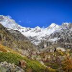 Valgaudemar refuge Gioberney massif Ecrins Hautes Alpes